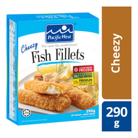 Pacific West Frozen Fish Fillets - Cheezy