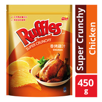 Ruffles Potato Chips - Super Crunchy Chicken