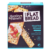 Huntley & Palmers Baked Flat Bread - Toasted Sesame