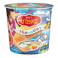Kaset Instant Rice Cup Porridge - Fish