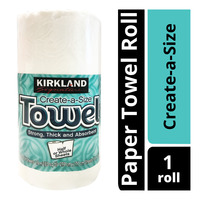 Kirkland Signature Paper Towel Roll - Create-a-Size