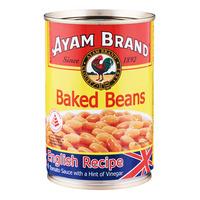 Ayam Brand Baked Beans - English Recipe (Tomato Sauce) 425G