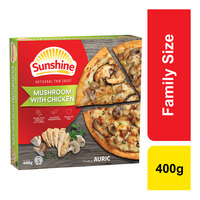 Sunshine Frozen Pizza - Mushroom with Chicken