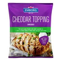 Emborg Shredded Cheese - Cheddar Topping