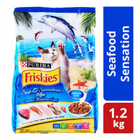 Friskies Delish Cat Dry Food - Seafood Sensations