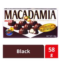 Meiji Macadamia Nut with Chocolate - Black