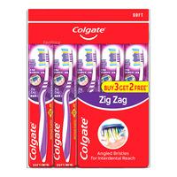 Colgate ZigZag Toothbrush - Soft