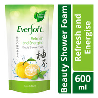 Eversoft Beauty Shower Foam Refill - Refresh and Energise