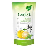 Eversoft Beauty Shower Foam Refill - Yuzu