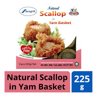 Seagift Natural Scallop in Yam Basket