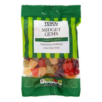Tesco Flavoured Sweets - Midget Gems