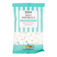 Tesco Flavoured Sweets - Mint Imperials