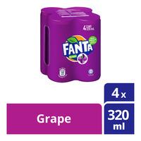 Fanta Can Drink - Grape