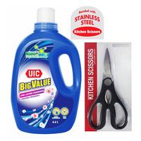 UIC Big Value Liquid Detergent - Floral + Kitchen Scissor