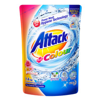 Attack Liquid Detergent Refill - Plus Colour (Aroma Fresh)