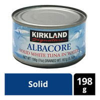 Kirkland Signature Albacore White Tuna in Water - Solid