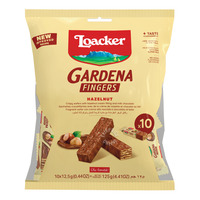 Loacker Gardena Fingers Wafer - Hazelnut