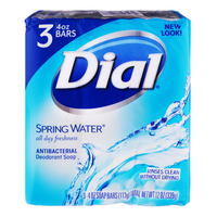 Dial Antibacterial Deodorant Bar Soap - Spring Water