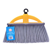 HomeProud Soft Broom with Rubber Edge