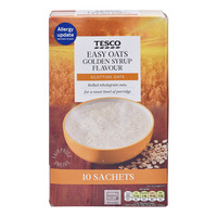 Tesco Easy Oats Porridge - Golden Syrup Flavour