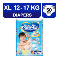 MamyPoko Extra Dry Skin Diapers - XL (12 - 15kg)