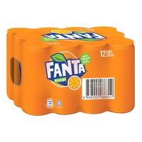 Fanta Can Drink - Orange
