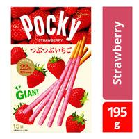 Glico Pocky Giant Biscuit Sticks - Strawberry
