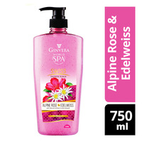 Ginvera World Spa Shower Scrub - Swiss (Alpine Rose&Edelweiss)