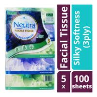 Neutra Facial Tissue Box - Silky Softness (3ply)