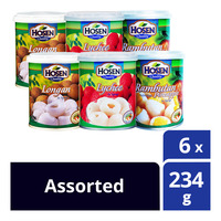 Hosen Fruits in Syrup - Assorted