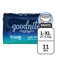 Huggies Goodnites Bedtime Pants - L - XL (27 - 57kg)