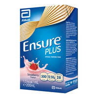 Abbott Ensure Plus Packet Milk - Strawberry