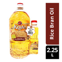 Knife Brand Rice Bran Oil