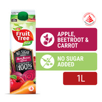 F&N Fruit Tree Fresh Sugar Free Juice - Apple, Beetroot & Carrot