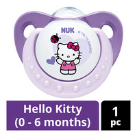 NUK Silicone Soother - Hello Kitty (0 - 6 months)