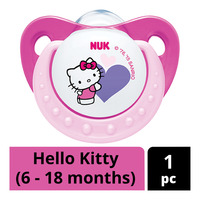 NUK Silicone Soother - Hello Kitty (6 - 18 months)