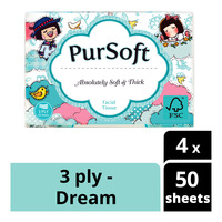 PurSoft Tissue Travel Pack (3ply)