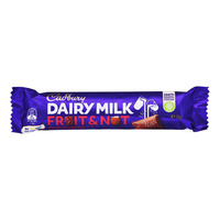 Cadbury Dairy Milk Chocolate Bar - Fruit & Nut