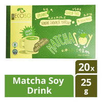 Eco SG Nutrition Instant Matcha Soy Drink