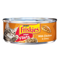 Friskies Can Cat Food - Prime Filets with Chicken in Gravy