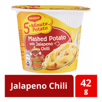 Maggi 5-Minute Instant Mashed Potato - Jalapeno Chili