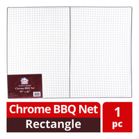 HomeProud Chrome BBQ Net - Rectangle