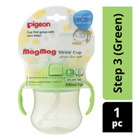 Pigeon MagMag Step 3: Straw Cup - Green