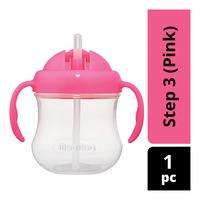 Pigeon MagMag Step 3: Straw Cup - Pink