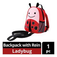 Skip Hop Zoo-Let Mini Backpack with Rein - Ladybug