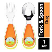 Skip Hop Zootensils Fork & Spoon - Dog