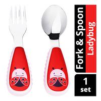 Skip Hop Zootensils Fork & Spoon - Ladybug