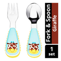 Skip Hop Zootensils Fork & Spoon - Giraffe