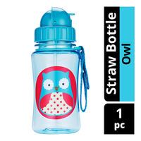 Skip Hop Straw Bottle - Owl