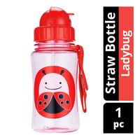 Skip Hop Straw Bottle - Ladybug